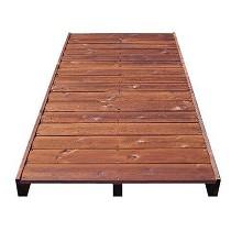 Losas de madera autoportantes