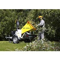 Trituradoras para ramas y restos verdes