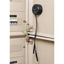 Accesorio para guardar y mantener organizados los cables