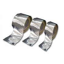 Cintas de aluminio adhesivas