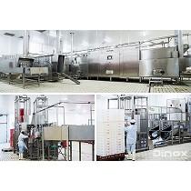 Líneas automáticas de lavado de cajas para la industria alimentaria