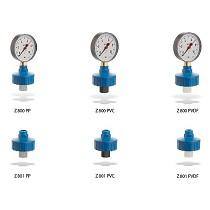 Diafragmas separadores de manómetros