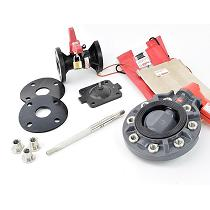 Componentes variados para válvulas