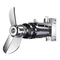 Agitadores sumergidos horizontales con reductor