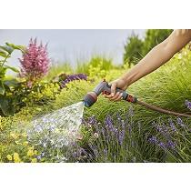 Pistola multifuncional para riego y limpieza Gardena comfort ecoPulse