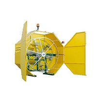Recogedor hidráulico de tubería de riego Agroaljorra G4T
