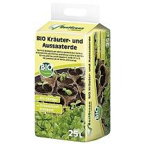 Sustratos bio para hierbas aromáticas y para la siembra Floragard BestGreen