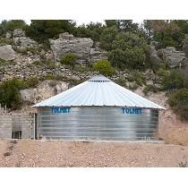 Depósitos con cubierta metálica Tolmet