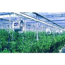 Sistemas de humidificación para invernaderos
