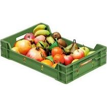 Cajas plásticas para la industria agrícola