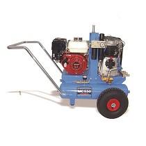 Motocompresores de aire de ruedas traccionados