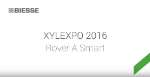Biesse at Xylexpo - Rover A Smart