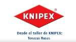 KNIPEX Tenazas para armadores