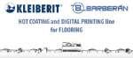 Impresión digital y HotCoating para la producción de suelos