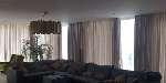 Riel motorizado para cortinas de lujo