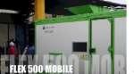 Molino de martillos FLEX 500 Mobile reciclaje WEEE, RAEE y de motores eléctricos