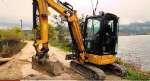 Miniexcavadora Cat® 303E para Excavaciones Jorge González