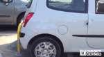 Arco abatible con amortiguadores:Protección aparcamiento flexible