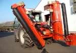 Trituradora agrícola plegable TRB-P-H2