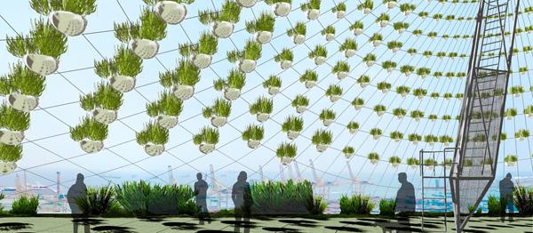 Jardines verticales de bajo consumo de agua jardiner a for Edificios con jardines verticales