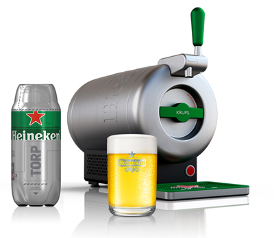 heineken presenta la cerveza de barril the sub. Black Bedroom Furniture Sets. Home Design Ideas