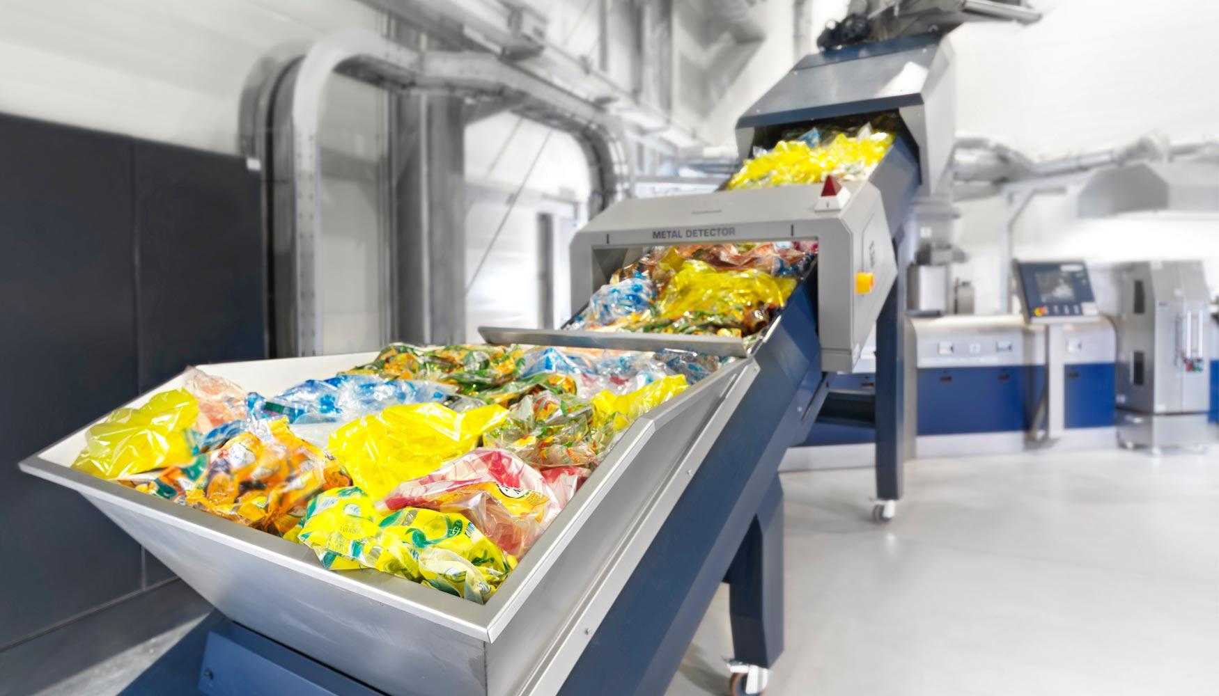 Tecnolog a erema reciclaje multicapa altamente eficiente - Maquina de reciclaje de plastico ...