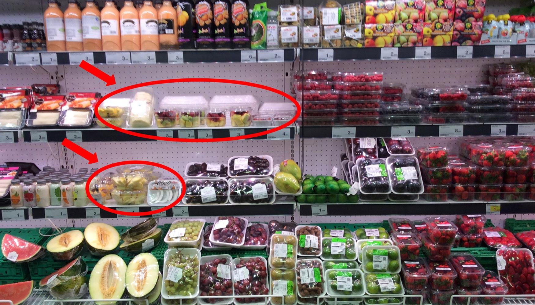 Tendencias Actuales En El Envasado De Fruta Mínimamente