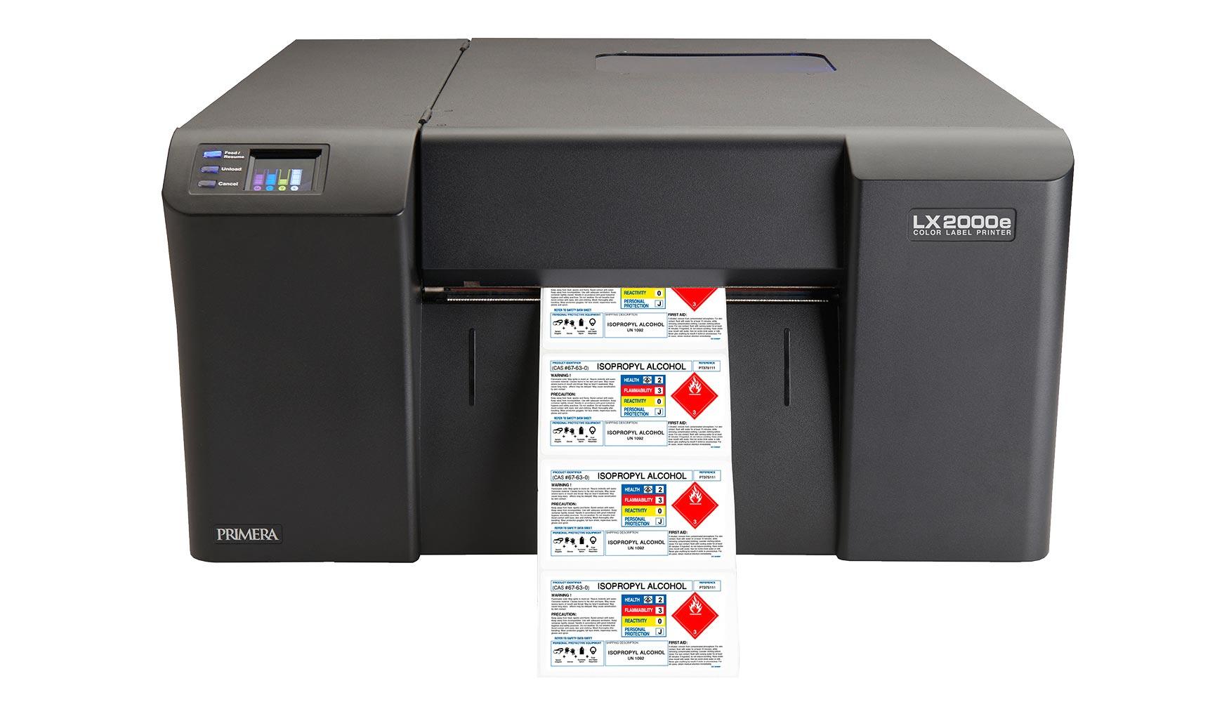 Primera lanza su nueva impresora de etiquetas a color LX2000e ...