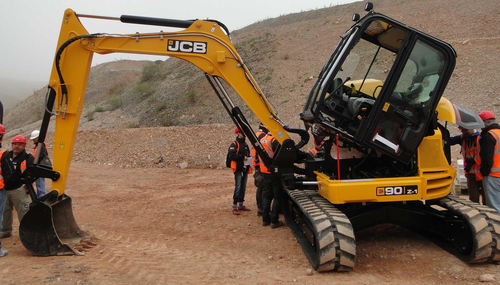 JCB amplía su gama de midiexcavadoras con un modelo de 9 toneladas y ...