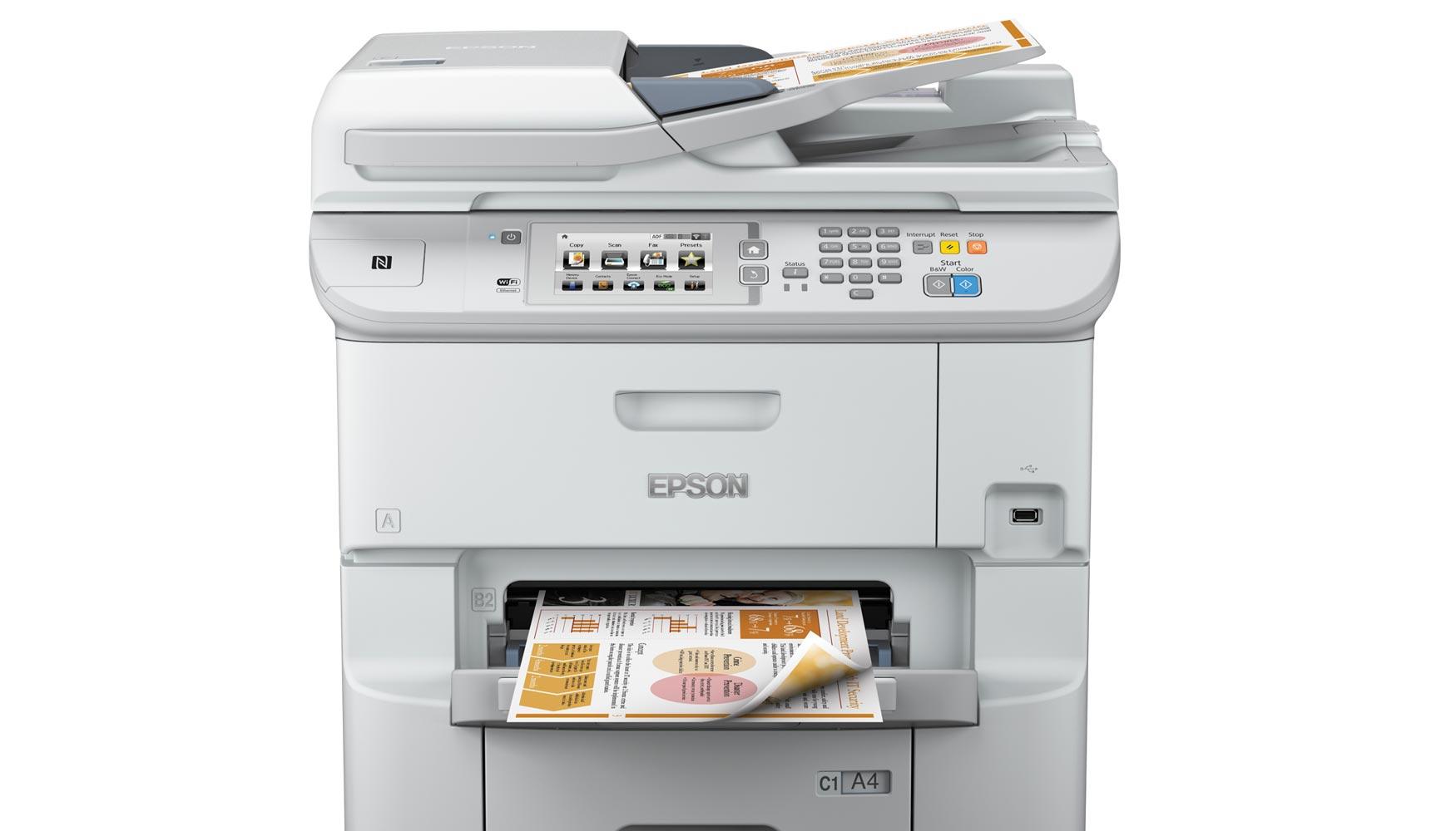 Las impresoras profesionales de inyección de tinta Epson WorkForce ...