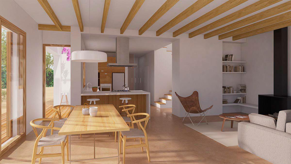 Nueva vivienda pasiva en castelldefels climatizaci n e for Vivienda interior