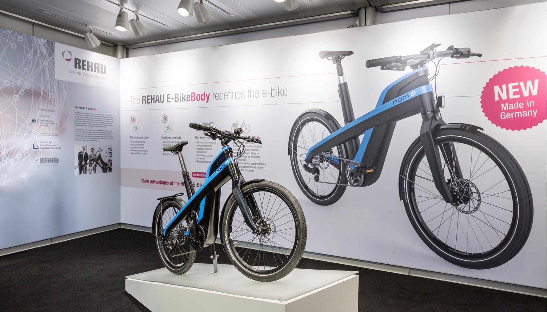 El primer cuadro de bicicleta eléctrica reciclable 100% -