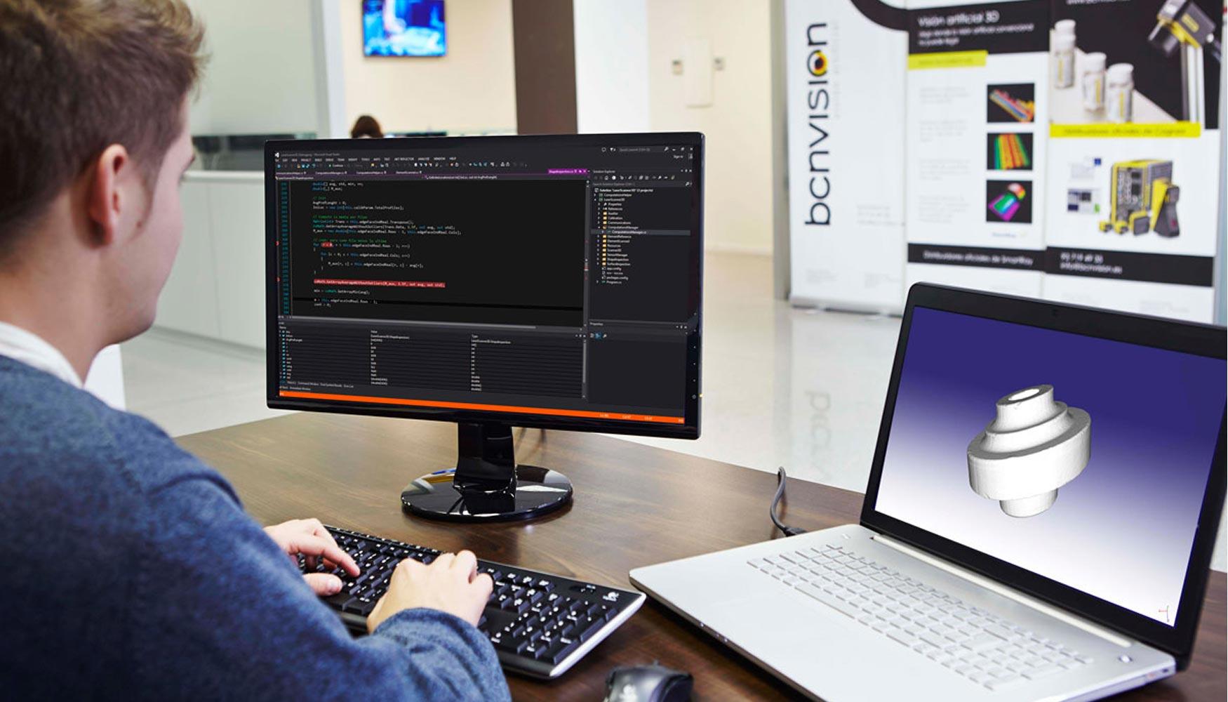 Bcnvision inaugura oficina en vigo automatizaci n for Oficina trafico vigo