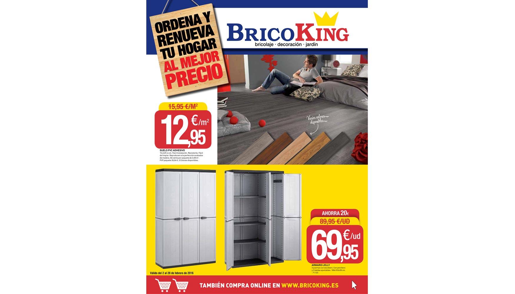 Bricoking lanza su nuevo folleto \'Ordena y Renueva al mejor precio ...
