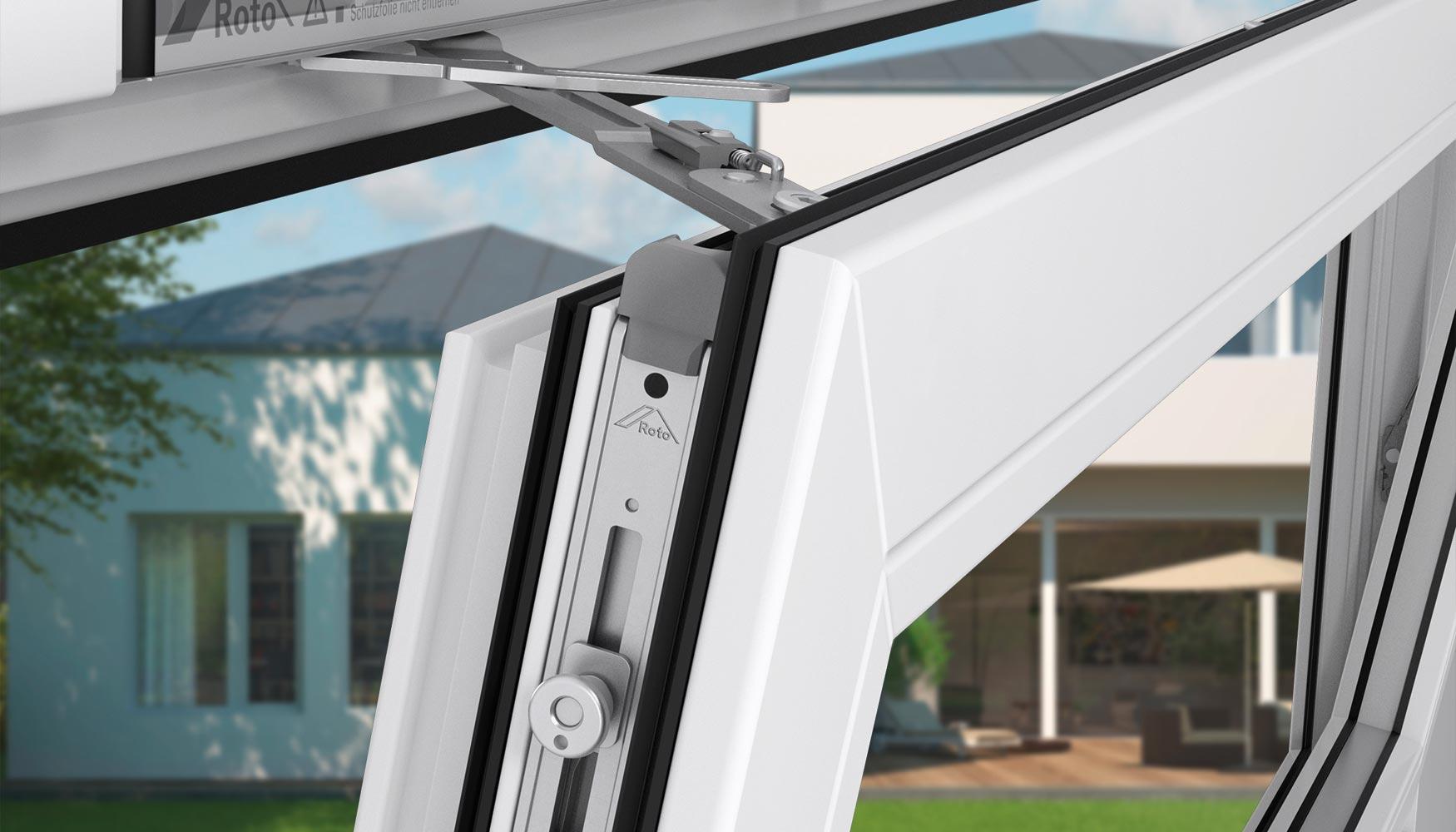La instalaci n exterior ventana de ajuste - Roto E Tec Drive