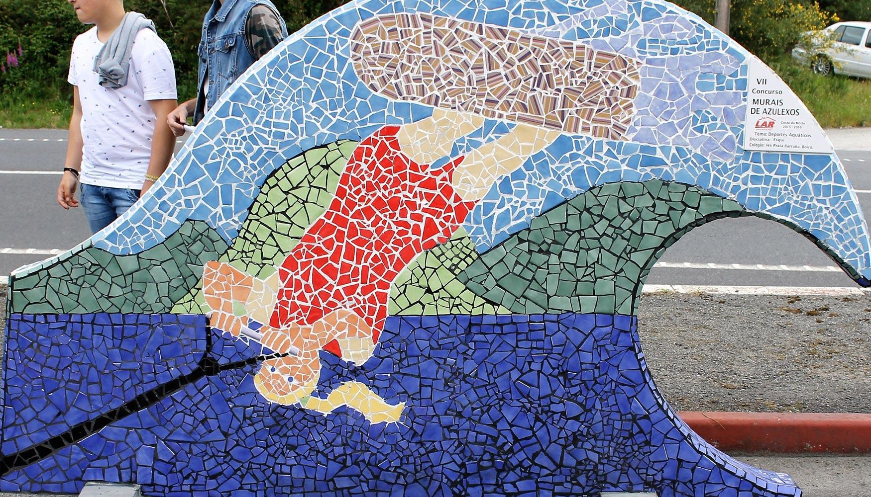 Mapei patrocina el vii concurso de murales de azulejos lar construcci n - Murales de azulejos ...