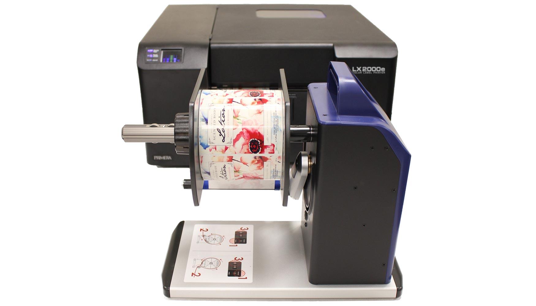 Se Acab 243 El Rebobinado Manual De Etiquetas Industria Gr 225 Fica