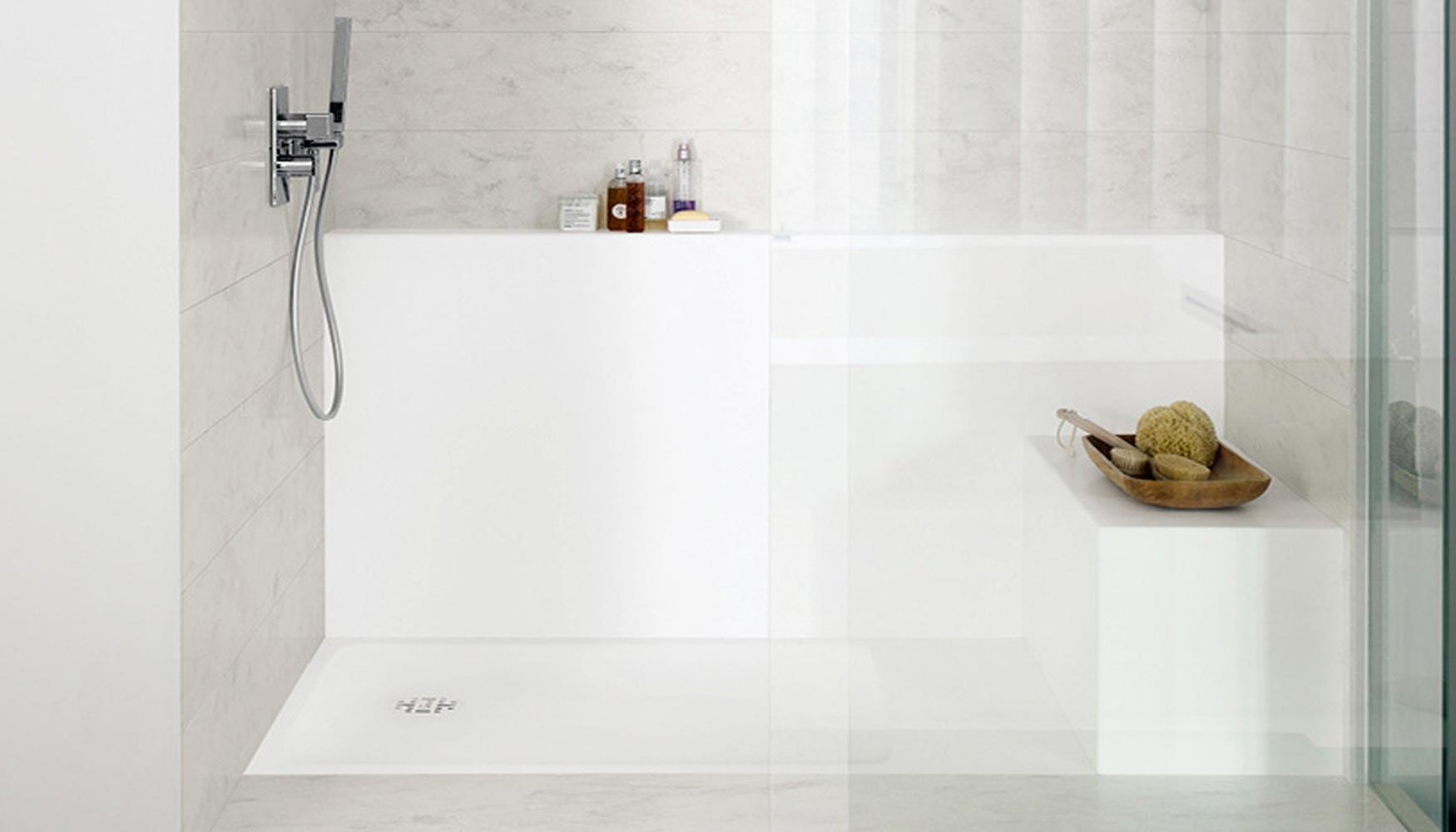 Nuevas ba eras y platos de ducha de dupont corian - Plato ducha corian ...