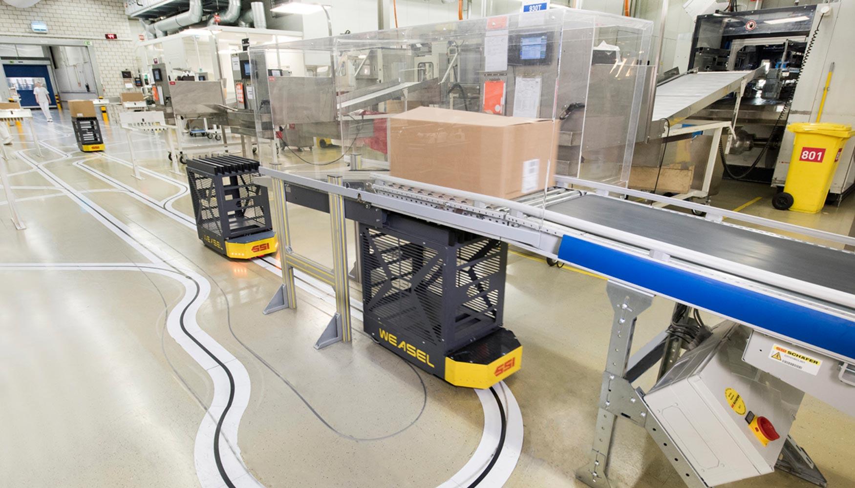 Bachmann Forming optimiza el transporte interno de su almacén con el ...