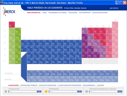 Una tabla peridica interactiva para aprender qumica divirtindose foto urtaz Images