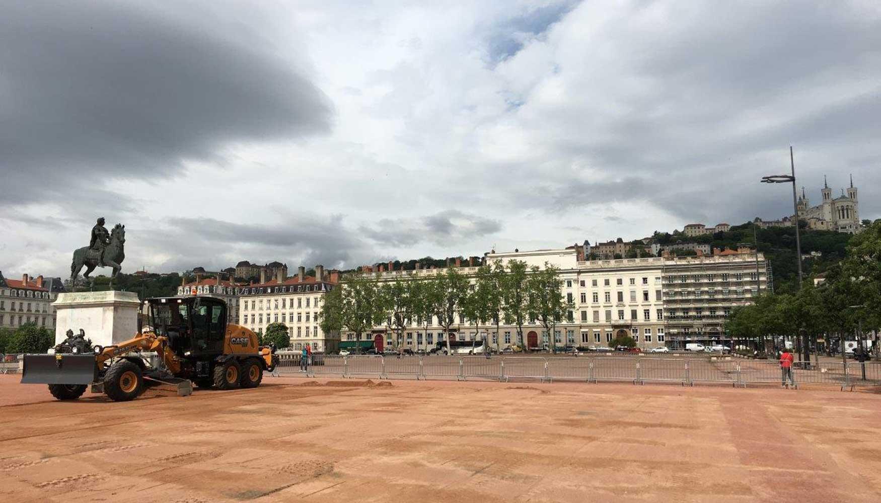 Motoniveladoras Case, un gran éxito en toda Europa - Obras públicas