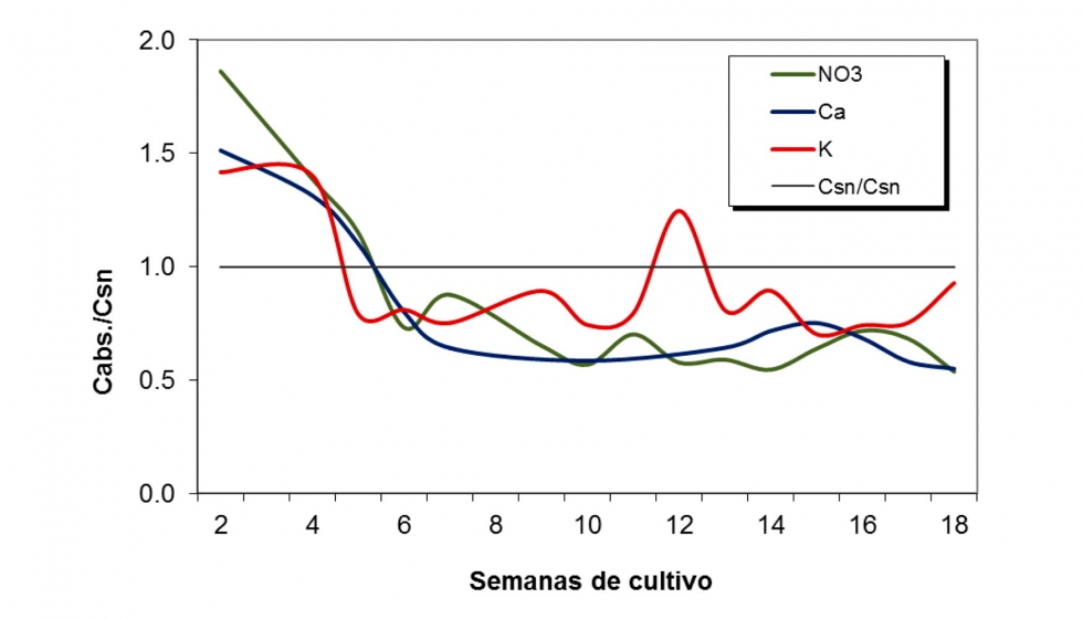 Manejo de los nutrientes en cultivos hortícolas bajo invernadero ...