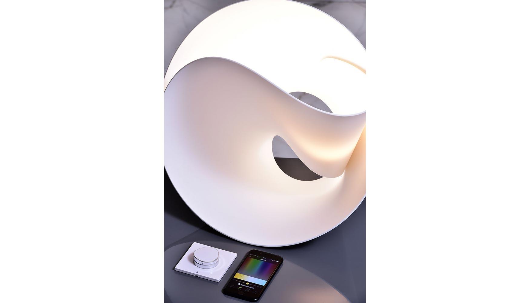 hi macs presenta tulip la l mpara de pierre cabrera decoraci n e interiorismo. Black Bedroom Furniture Sets. Home Design Ideas