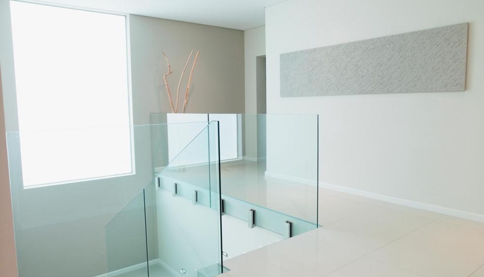 nuevo sistema de barandilla de cristal glassfit cc 791 de