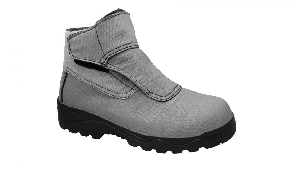 Seguridad y botas control frente a los riesgos químicos con las botas y 083178