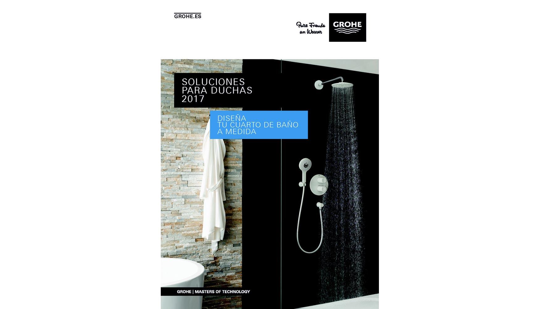 Grohe lanza su nueva tarifa de duchas 2017 decoraci n e for Tarifa grohe