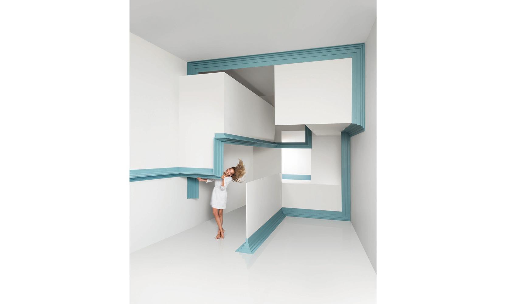 Dise o innovador y funcionalidad con las nuevas cornisas decorativas steps de orac decor - Cornisa para led ...