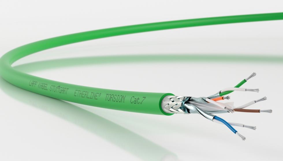 cable etherline torsion cat.7