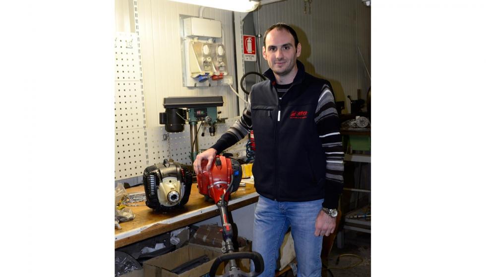 Emak ofrece herramientas de jardiner a mejoradas ferreter a for Tecnico en jardineria