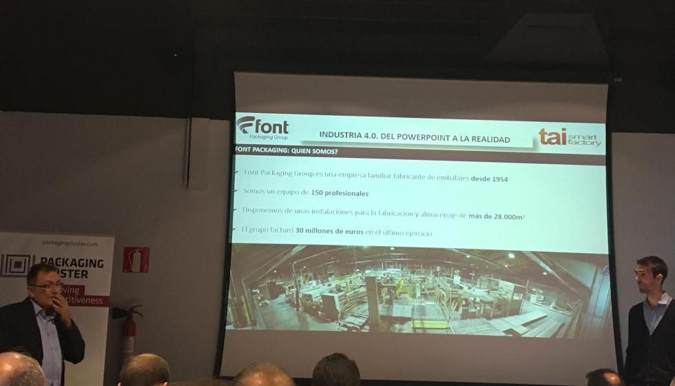 El Cluster del Packaging acerca la Industria 4.0 al sector del ...